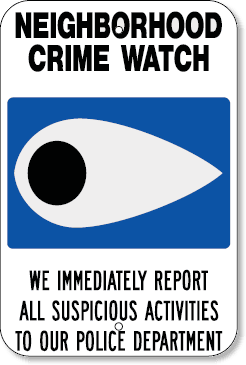 NeighborhoodCrimeWatchSign