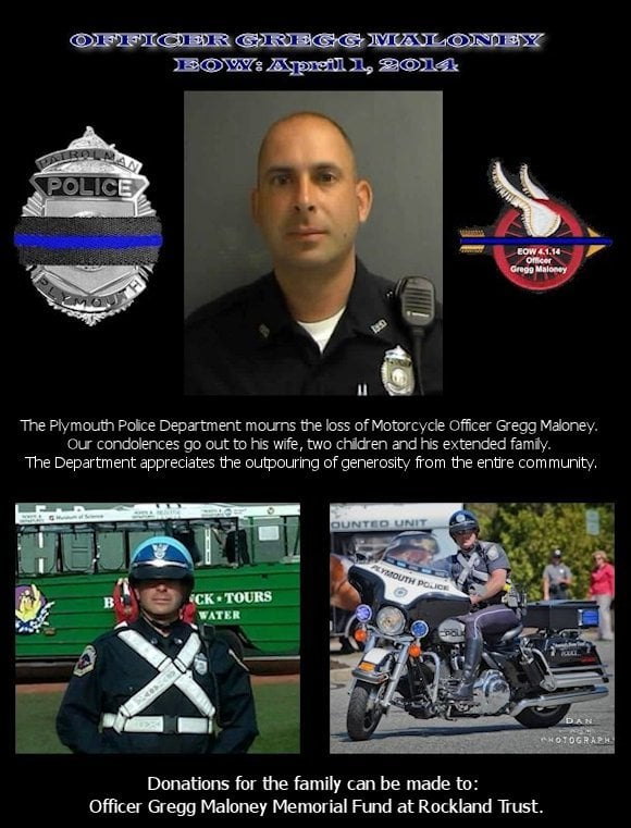 Officer Gregg Maloney Memorial