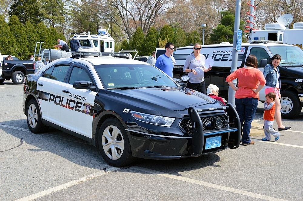 Plymouth Police Cruiser - Ford Police Interceptor - Built from the ground up for police work.