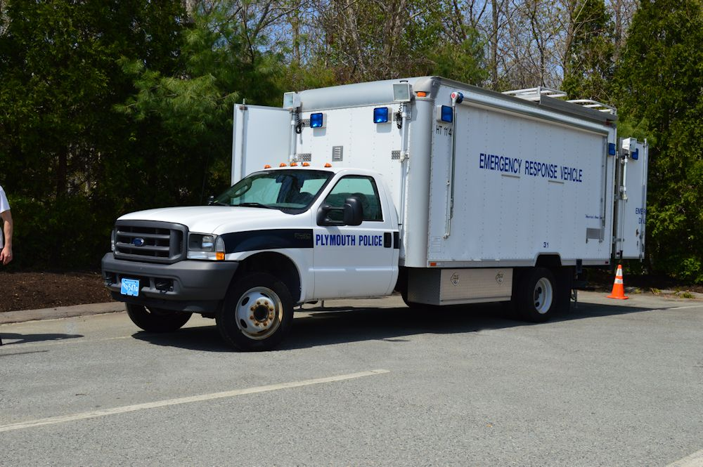Plymouth Police Emergency Response Vehicle