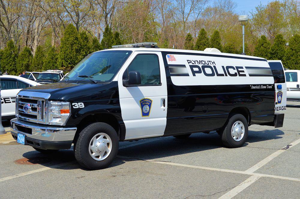 Plymouth Police Prisoner Transport Van