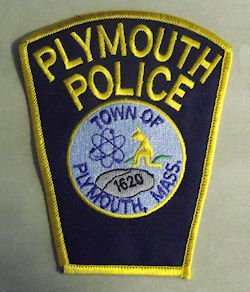 PLYMOUTH MASSACHUSETTS MA POLICE PATCH