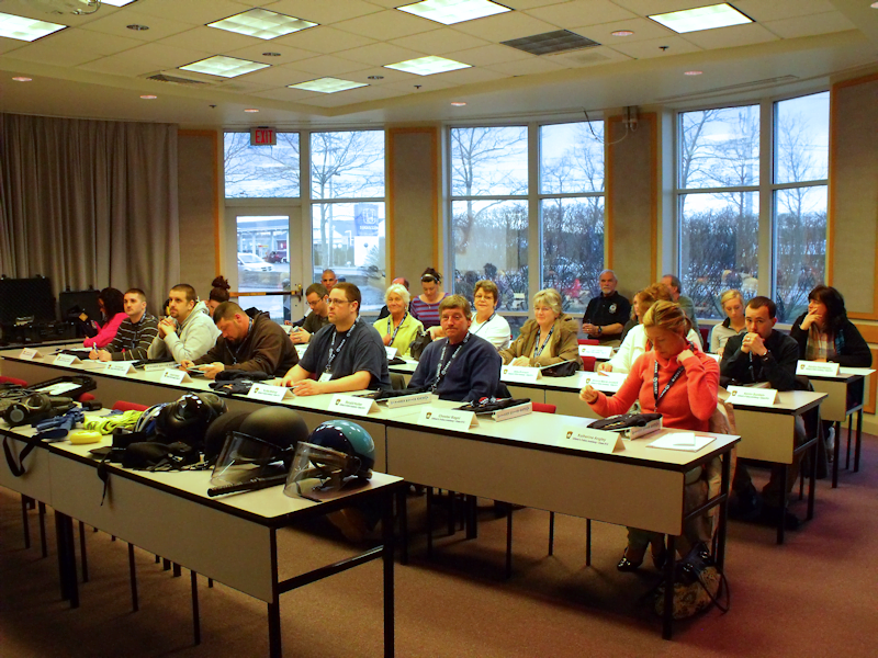 Participants of Citizen's Police Academy Session #13