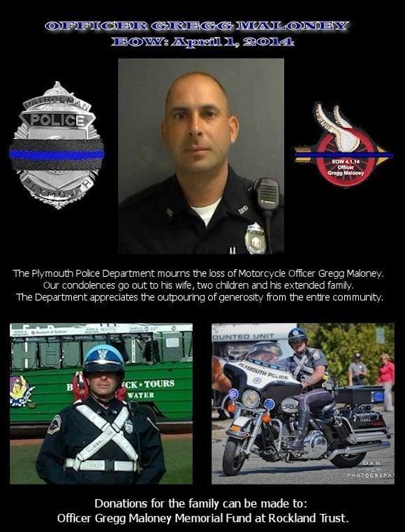Officer Gregg Maloney Memorial