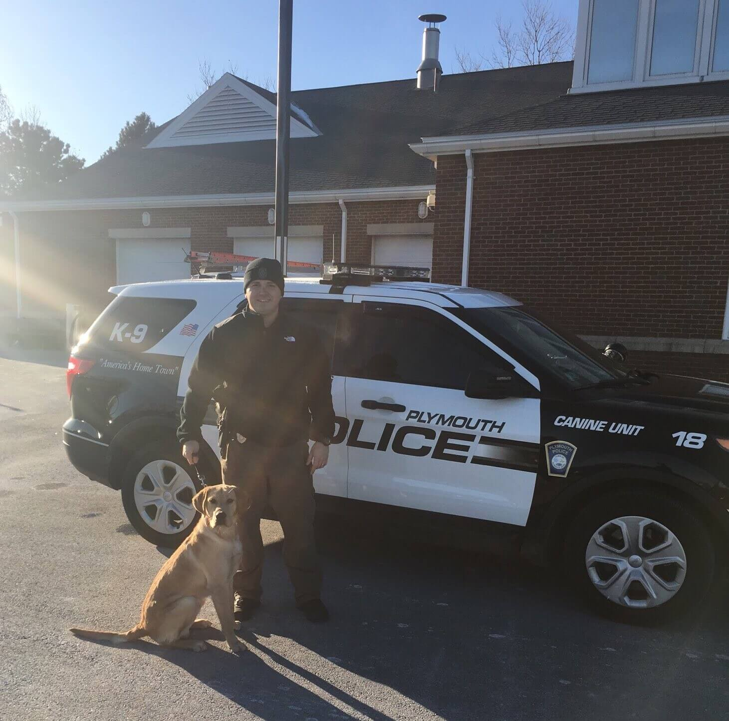 K-9 Max and Officer Welch