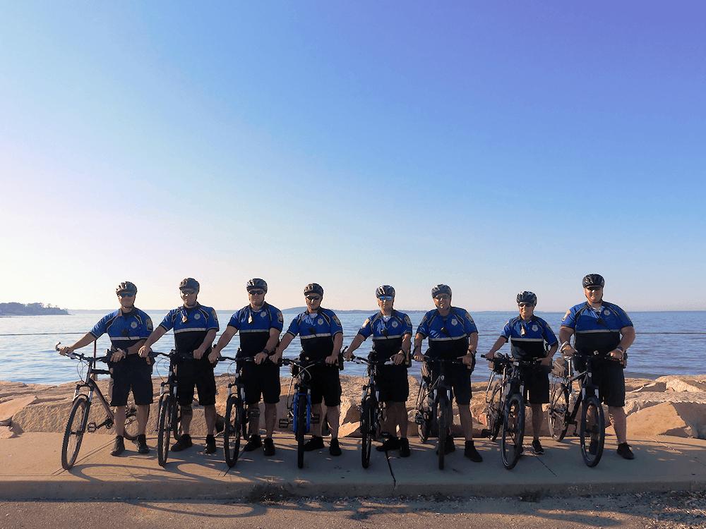 Plymouth Police Mountain Bike Unit