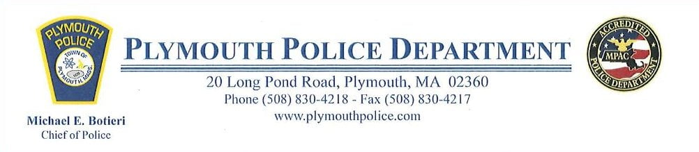 Plymouth Police Letterhead
